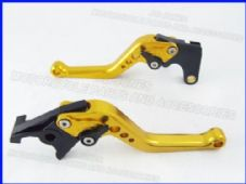 Yamaha FZ1 FAZER (01-05), CNC levers short gold/black adjusters, F14/Y688
